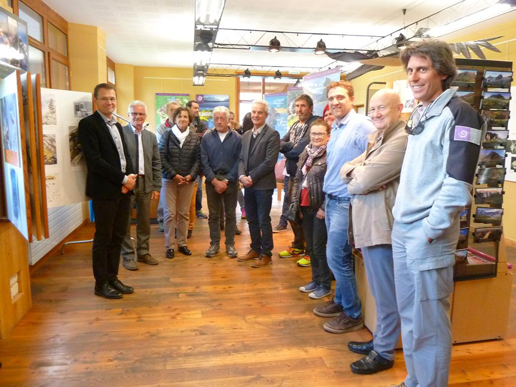 Signature convention OT-PNE Embrunais - 14 mai 2018