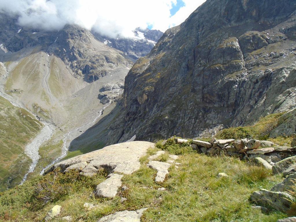Plateforme d'arrivée au Belvédère des Sellettes. Altitude 2280m - © S-D'houwt - PNE