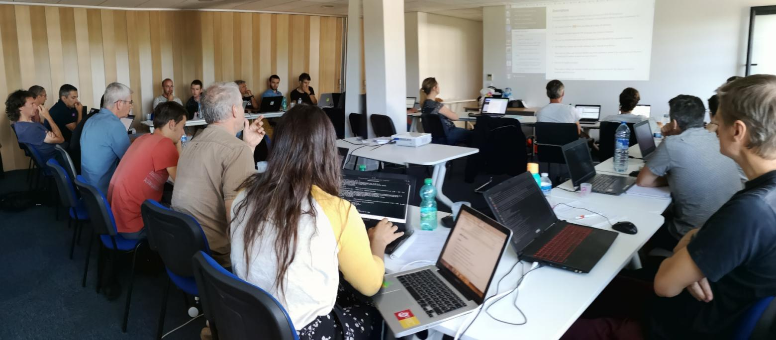 Workshop GeoNature 2018