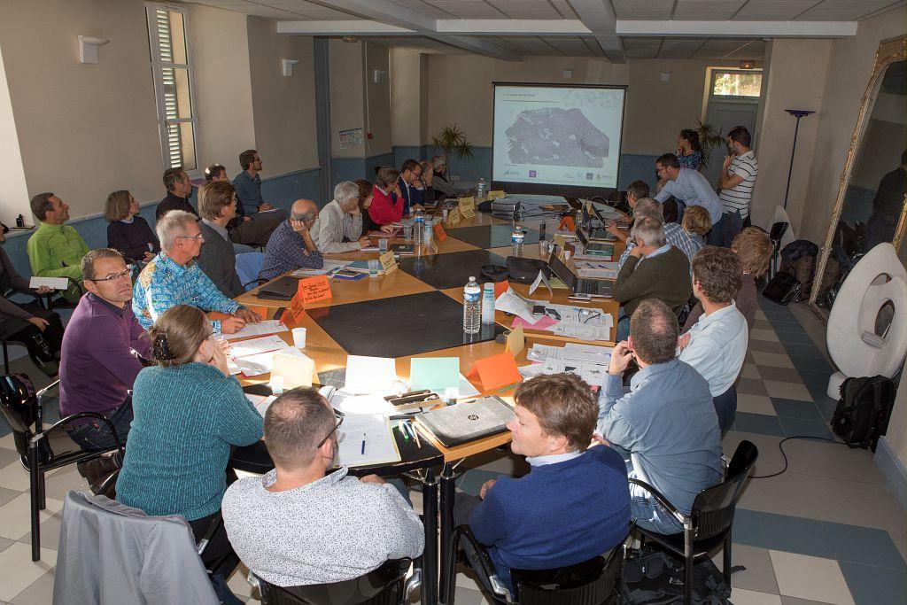 Conseil scientifique - Parc national des Ecrins - oct 2018 - © P.Saulay - Parc national des Ecrins