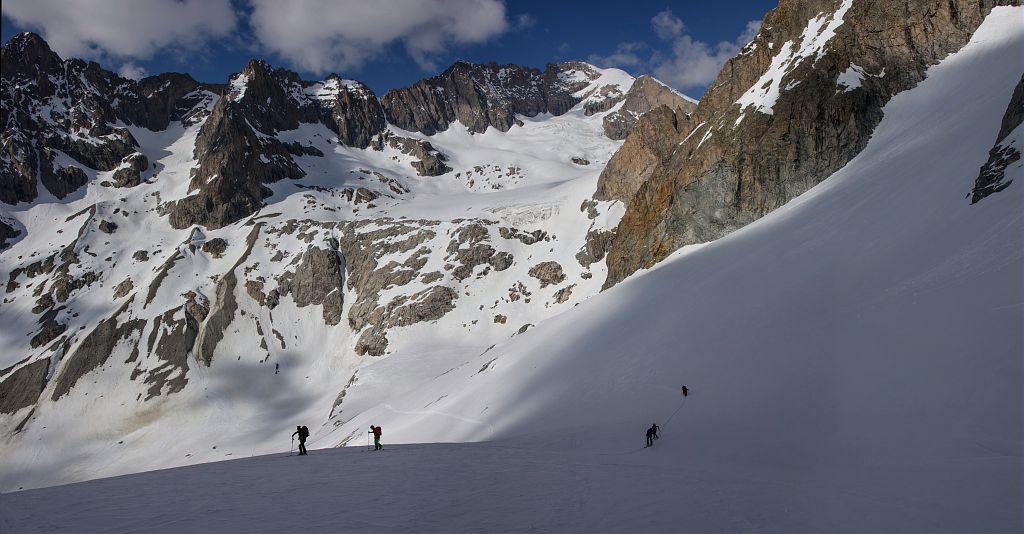 rando ski gandolière - vallon de la Selle - M.Coulon - Parc national des Écrins