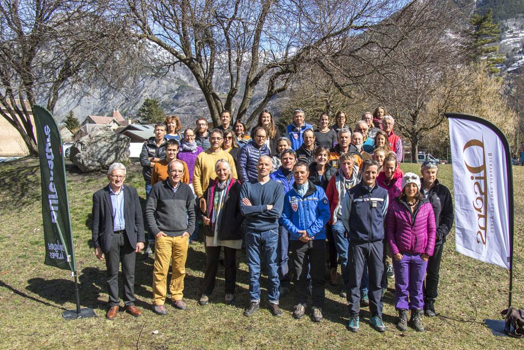 Rassemblement de printemps des gardiens de refuges de l'Isère et des Hautes-Alpes à Bourg d'Oisans, en présence des acteurs et professionnels de la montagne des deux départements 05 et 38 - photo P.Domeyne - Agence développement 05