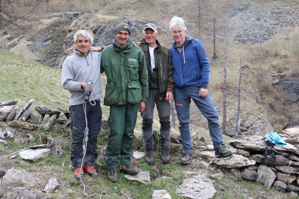 Re-capture Dimanche - Rochemolle - 10 mai 2019 - © H.Quellier - Parc national des Écrins
