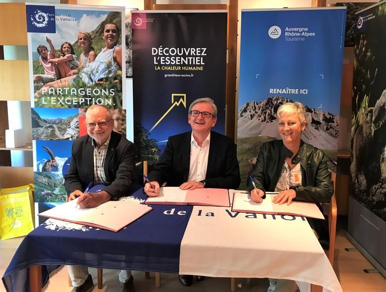 signature convention AURAT-PNE-PNV  - sept 2019
