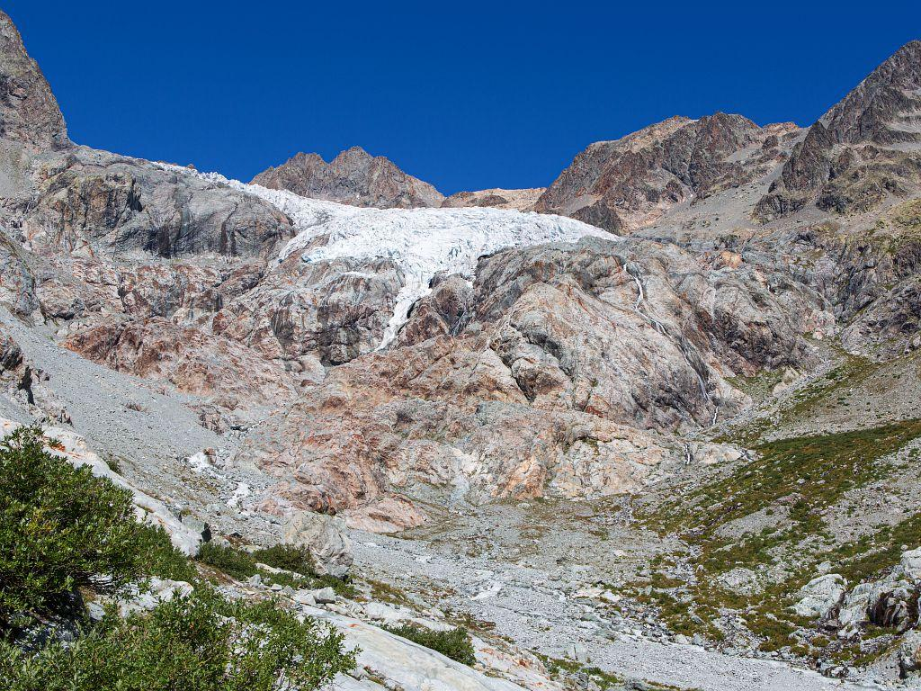 Glacier Blanc - photoconstat point A - 2019 - © T. Maillet - Parc national des Écrins