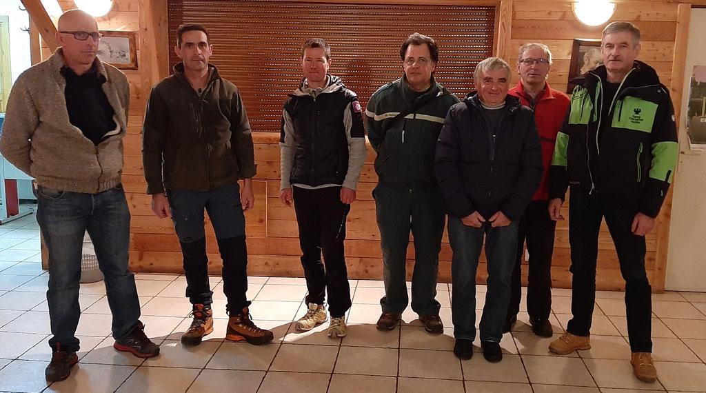 Des partenaires pour créer une zone de quiétude des tétras lyre au Monêtier-les-bains - © H.Quellier - Parc national des Écrins