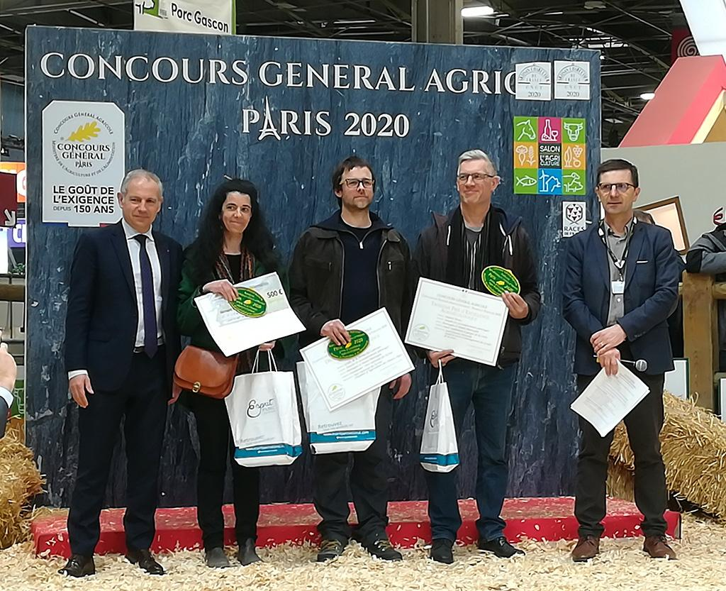 Remise des prix concours prairies et parcours - salon de l'agriculture 2020- photo M.Della Vedova - Parc national des Ecrins