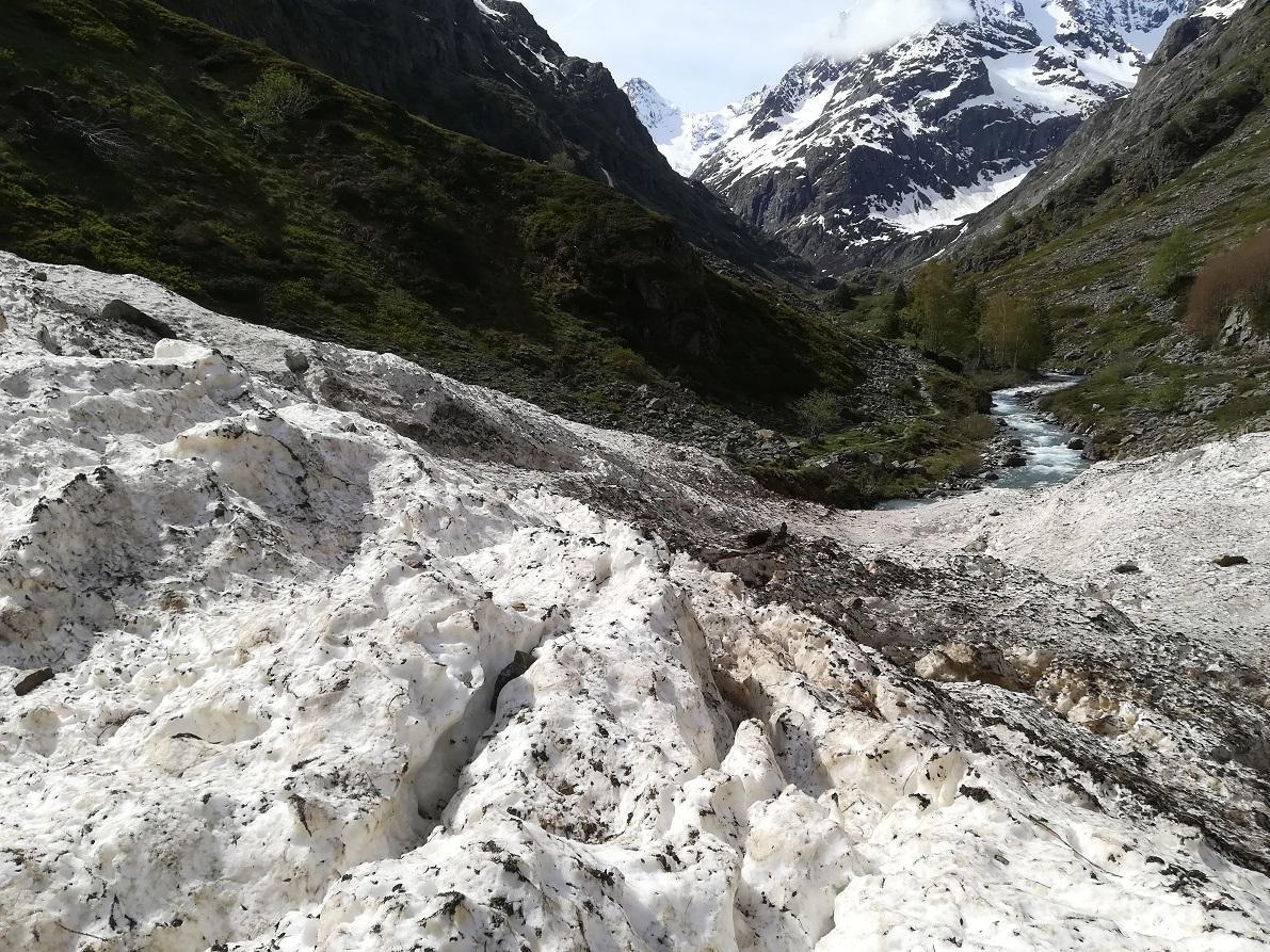 Avalanche la Lavey - mai 2020 - photo E.ollieu - Parc national des Ecrins
