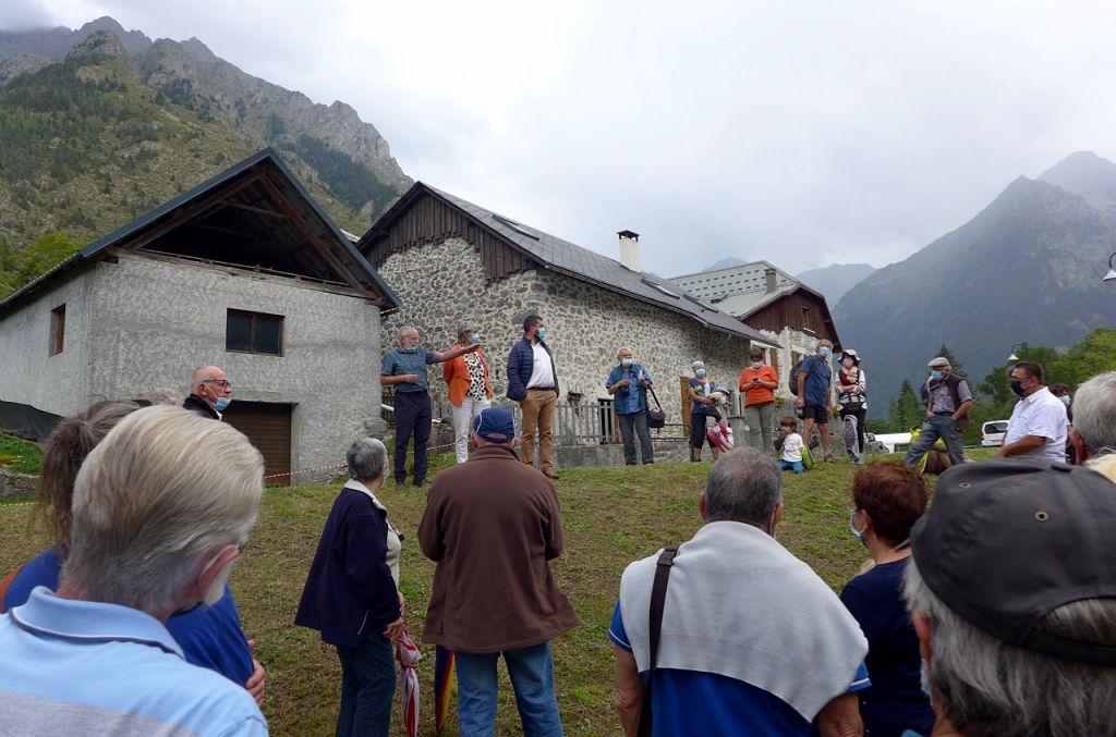 La scierie des Ségoins reprend vie à Valjouffrey © Pierre Commenville - Parc national des Ecrins