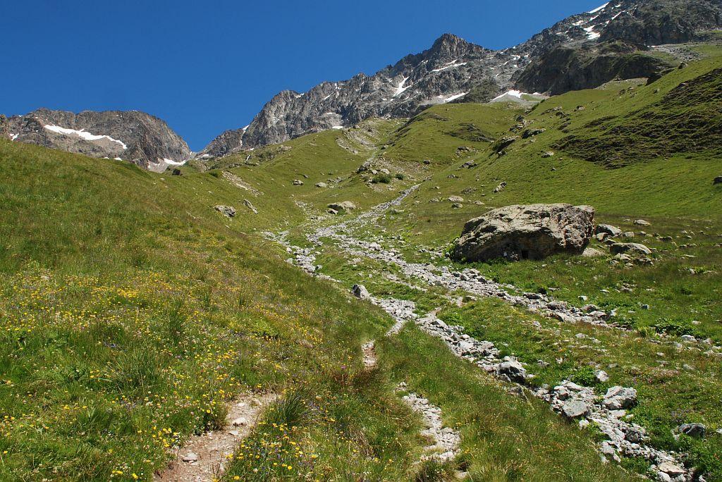 Sur l'itinéraire du refuge du Pigeonnier - O. Warluzelle - PNE