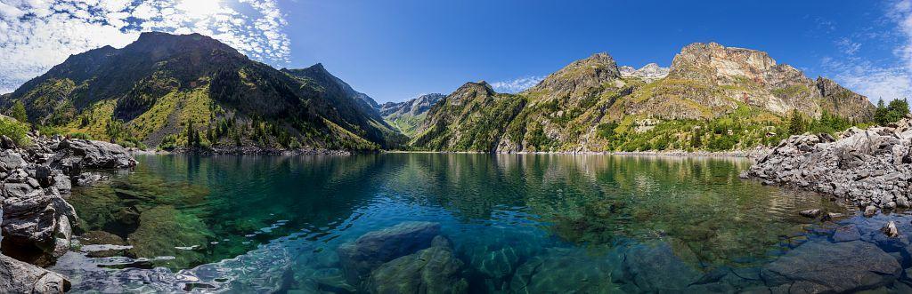 Le lac Lauvitel - © T. Maillet - PNE