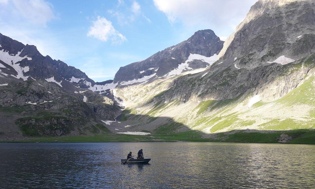 Etude hydrobiologique et piscicole du lac de la Muzelle - © N. Bergher
