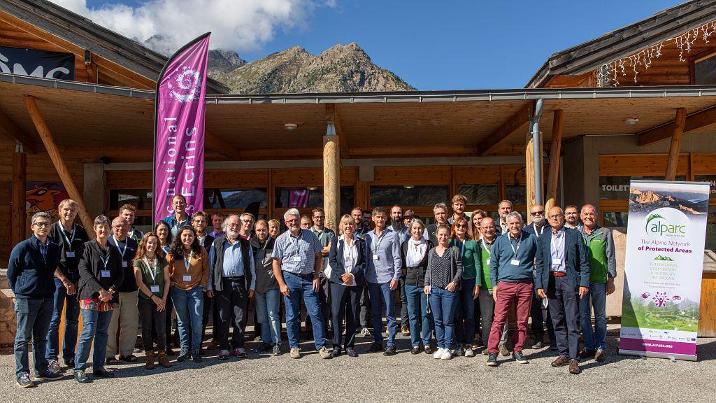 Les participants à l'AG d'Alparc 2021 -Thierry Maillet (c) Parc national des Ecrins