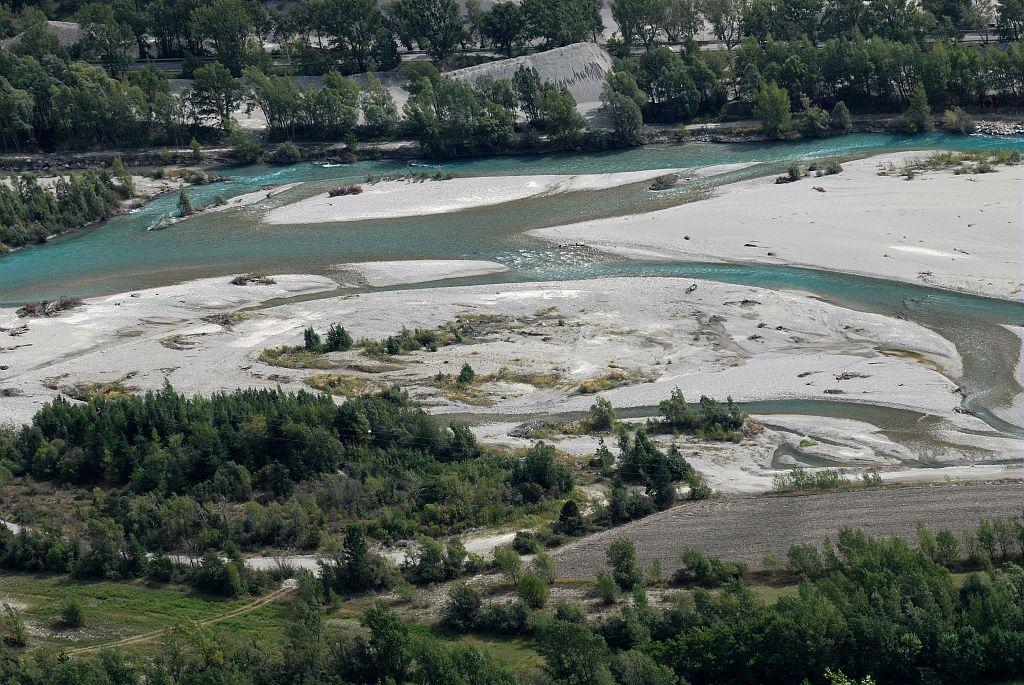 La Durance - Réotier ©Coulon Mireille - Parc national des Ecrins