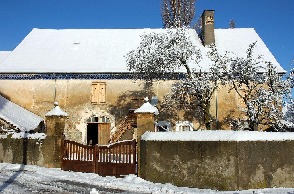Maison traditionnelle au Villardon ©Dominique Vincent - Parc national des Ecrins