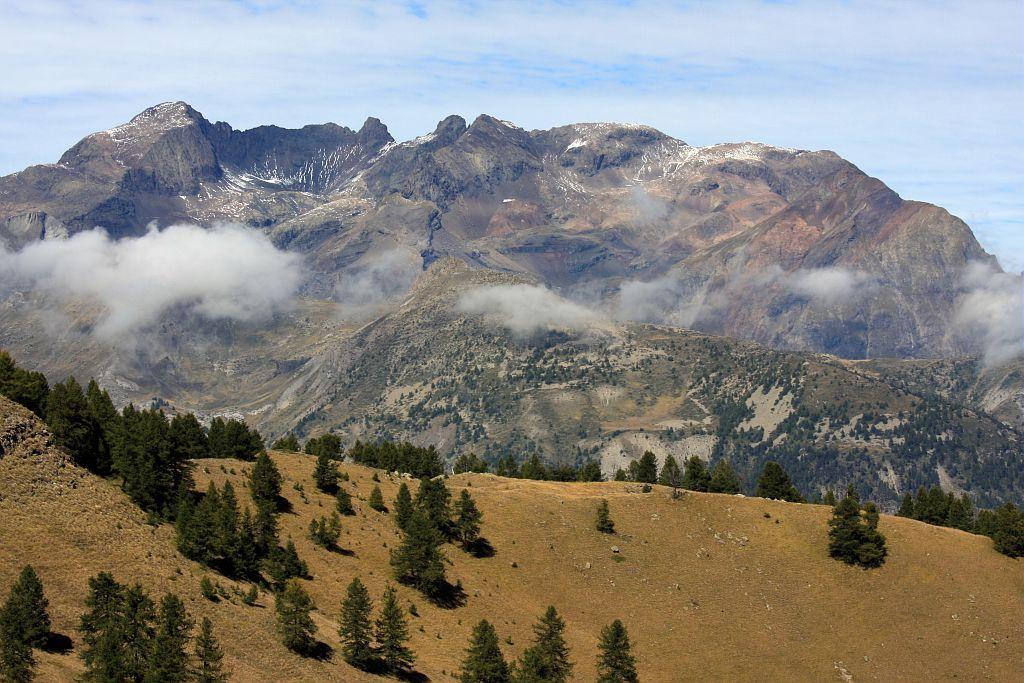 Depuis l'Aupet, Le Vieux Chaillol - Saint-Jean Saint-Nicolas ©Marc Corail - Parc national des Ecrins