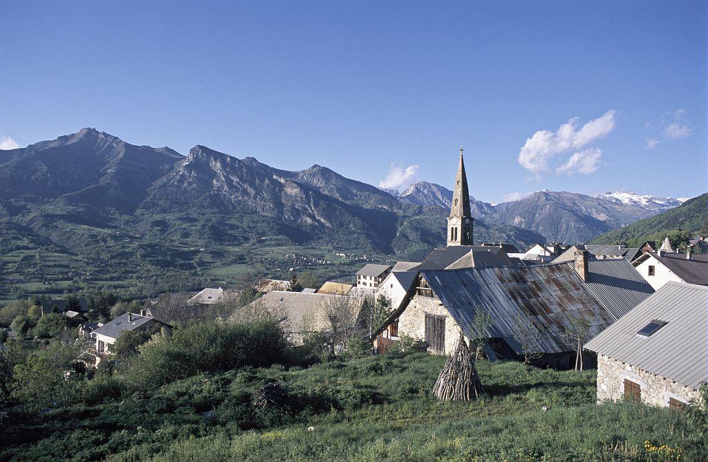 Saint-Léger les Mélèzes ©Pascal Saulay - Parc national des Ecrins