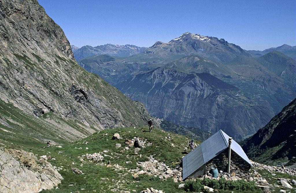 Refuge des Sources ©Pascal Saulay - Parc national des Ecrins