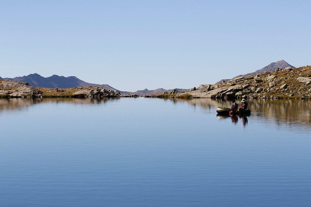 Lacs sentinelles dans les Ecrins © Jean-Philippe Telmon  - Parc national des Écrins