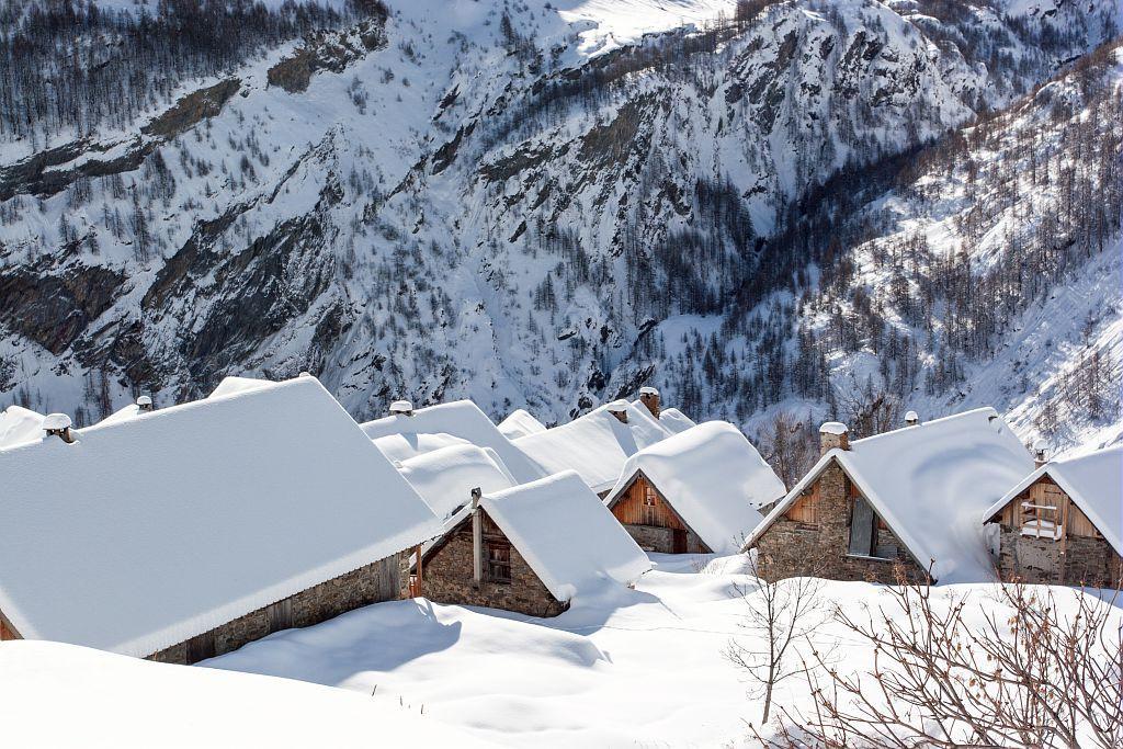 Dormillouse en hiver © R. Chevalier, PNE.