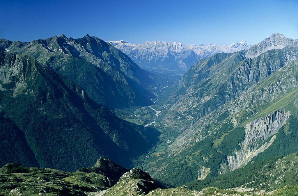Vallée du Valgaudemar © D. Vincent, PNE.