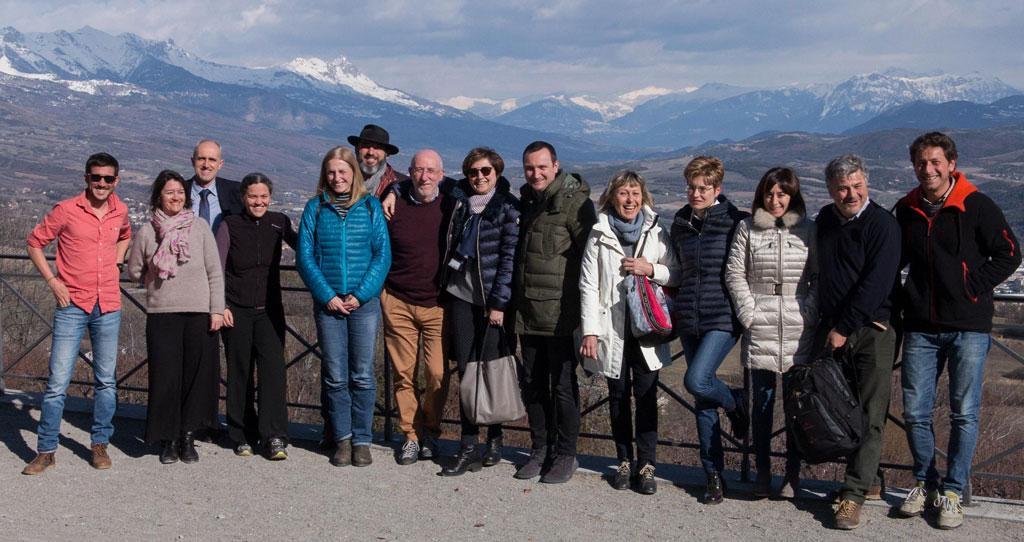 comité de pilotage CClimaTT à Gap - Parc national des Écrins, mars 2018
