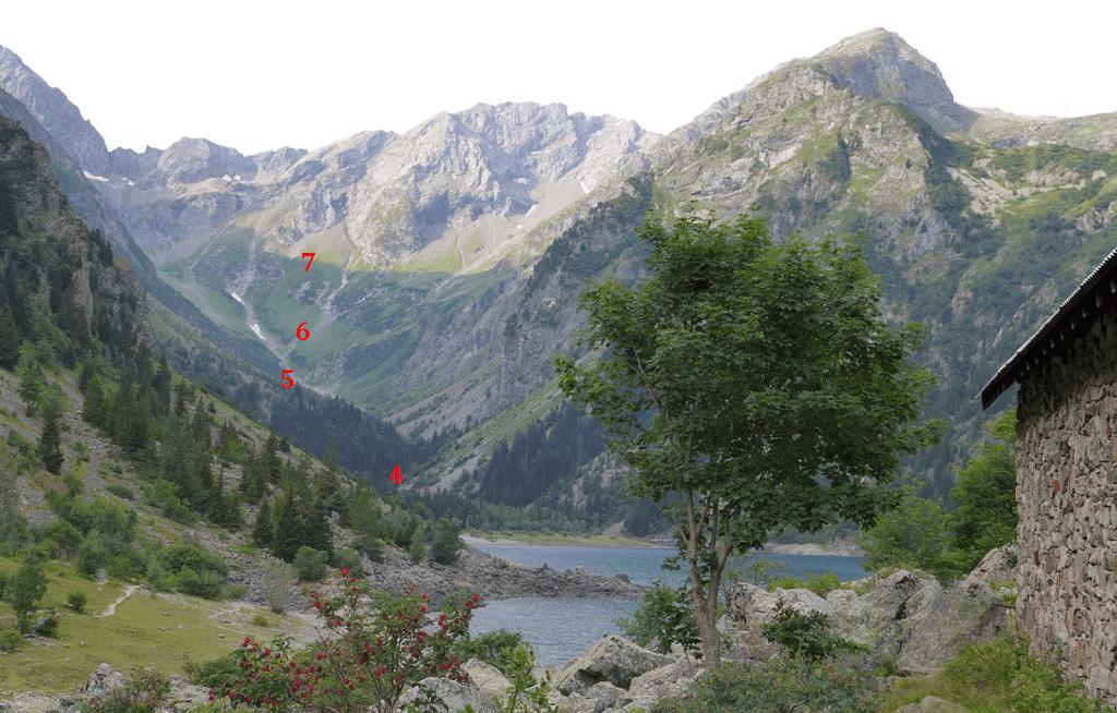 Les placettes ORCHAMP dans la réserve ©Amélie Saillard CNRS