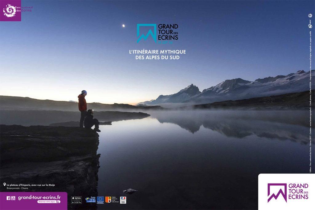 Poster Grand tour des Ecrins - © photo C Ayesta - Parc national des Écrins