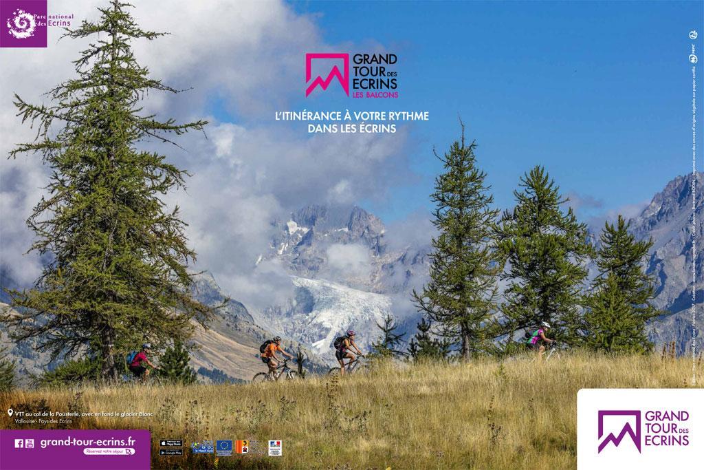 Poster Grand tour des Ecrins - © photo B Bodin - Parc national des Écrins