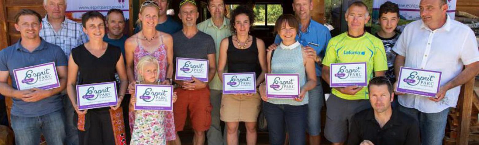Lancement marque Esprit Parc national dans les Ecrins - juillet 2015