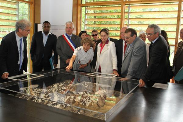 inauguration MdP de vallouise - juillet 2015 © JP Telmon - Parc national des Écrins