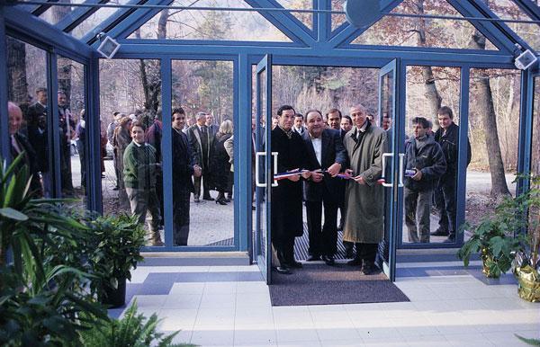 Inauguration siège du Parc national des Ecrins - Gap Charance - 1991