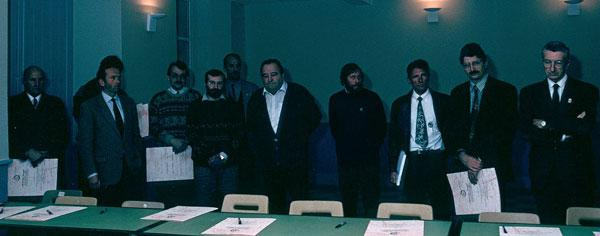 Première convention escalade  - Parc national des Ecrins 1992
