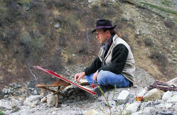 Art et Nature, artistes en résidence dans le Parc national des Ecrins