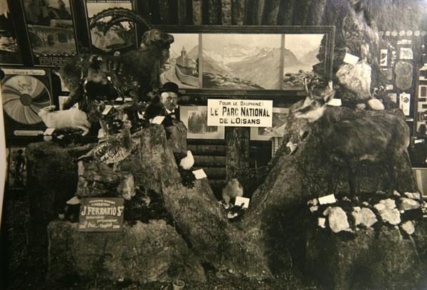 Concours horticole de 1913 en Oisans - image ancienne