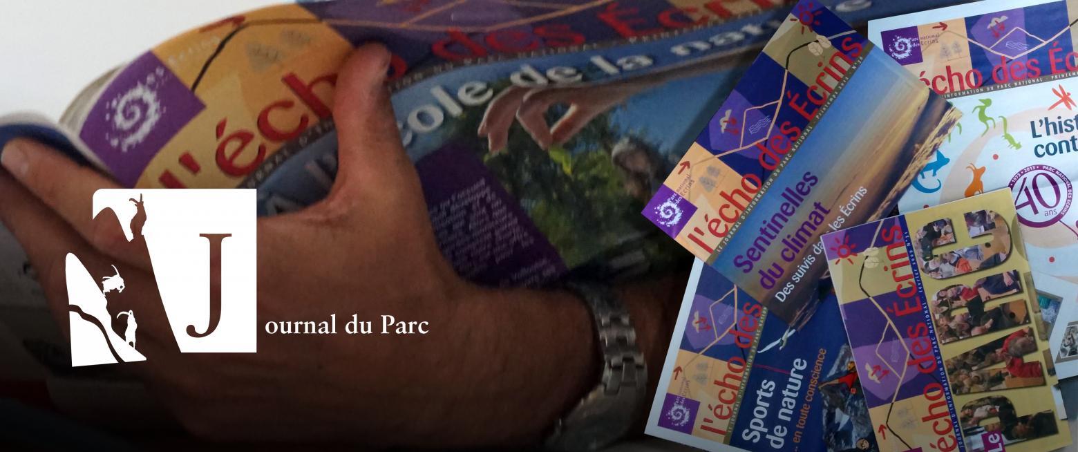 Les actualités du Parc national, dans le journal l'écho des Ecrins, et sur le site internet - © A-L Macle/PNE