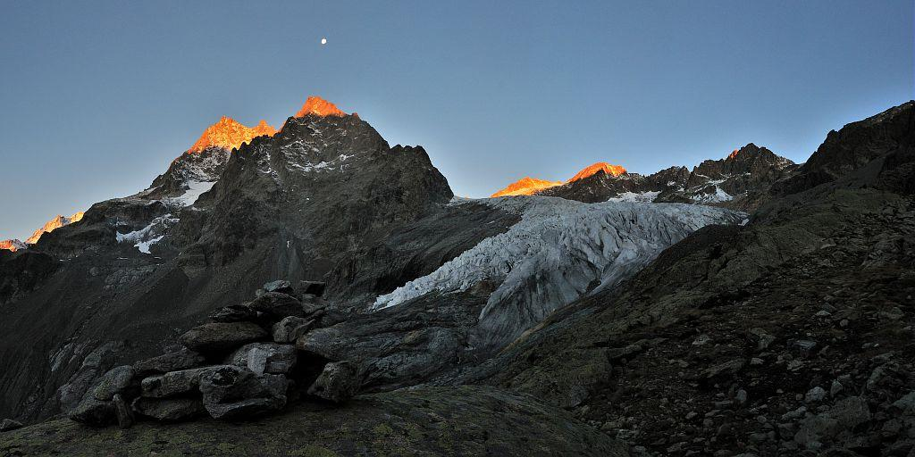 Grande Sagne - Glacier Blanc © Mireille Coulon - Parc national des Ecrins
