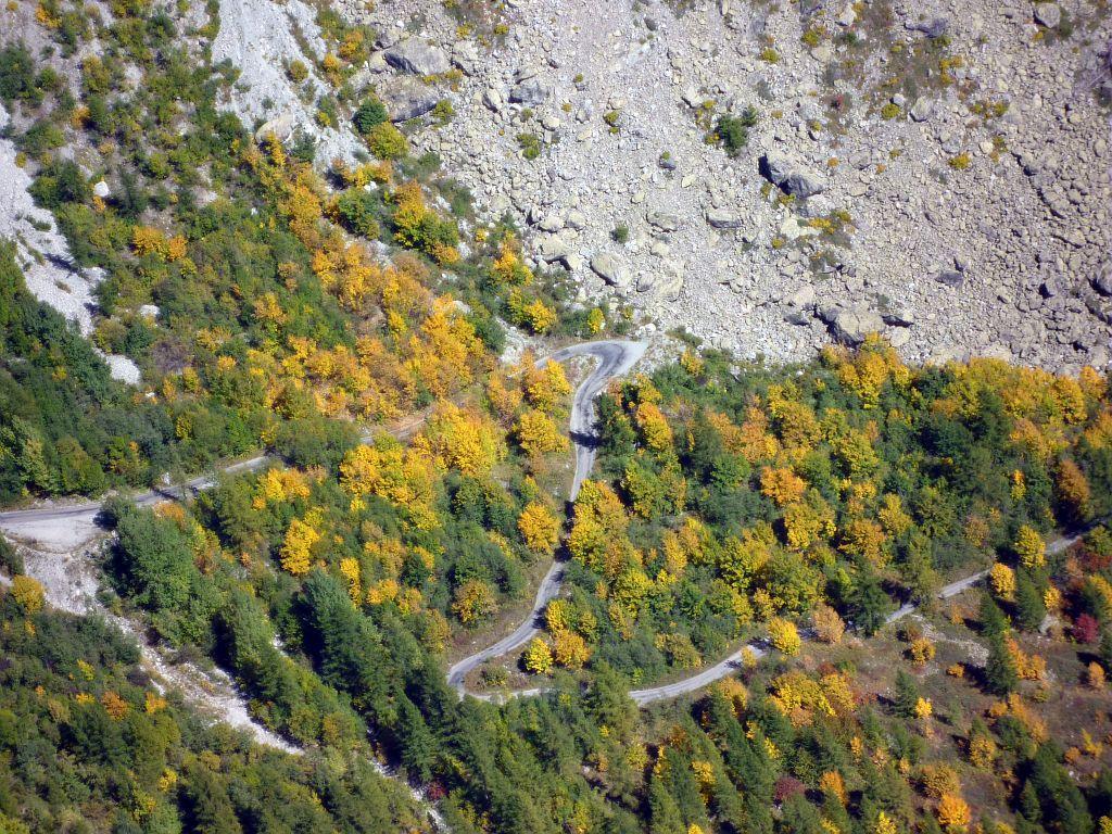 Route d'accès au Pré de madame Carle - Commune de Pelvoux © Thierry Maillet - Parc national des Ecrins
