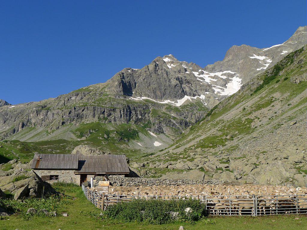 Cabane de Jas Lacroix - commune de vallouise © Thierry Maillet - Parc national des Ecrins