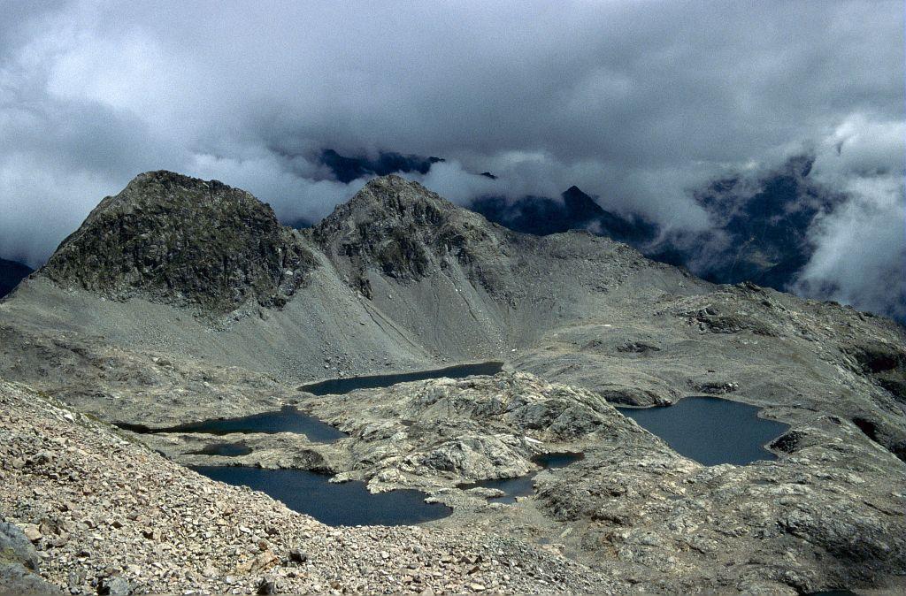 Les lacs de Crupillouse © Marc Corail - Parc national des Ecrins