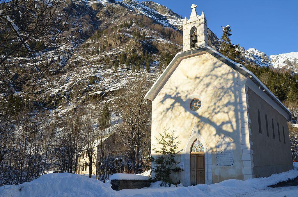 Chapelle Molines en Champsaur © D-Vincent - Parc national des Écrins