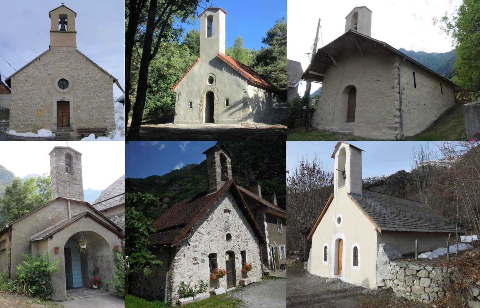 Similitudes et différences - chapelle Parc national des Ecrins