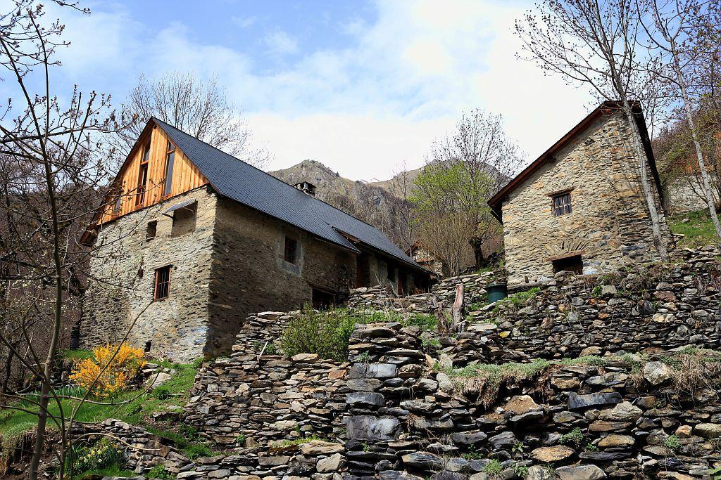 Hameau de Confolens-le-Haut ©Albert Christophe - Parc national des Ecrins