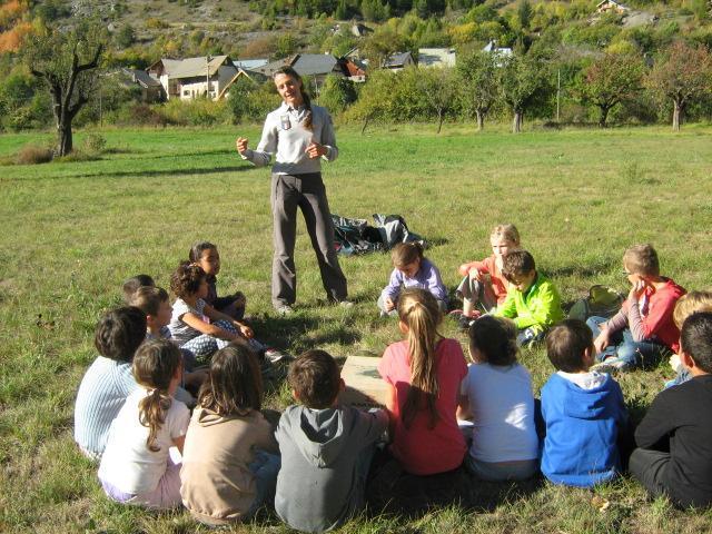 Jeunes découvreurs - programme pédagogie Parc national des Ecrins - Ecole de l'Argentière - CE1 - octobre 2014