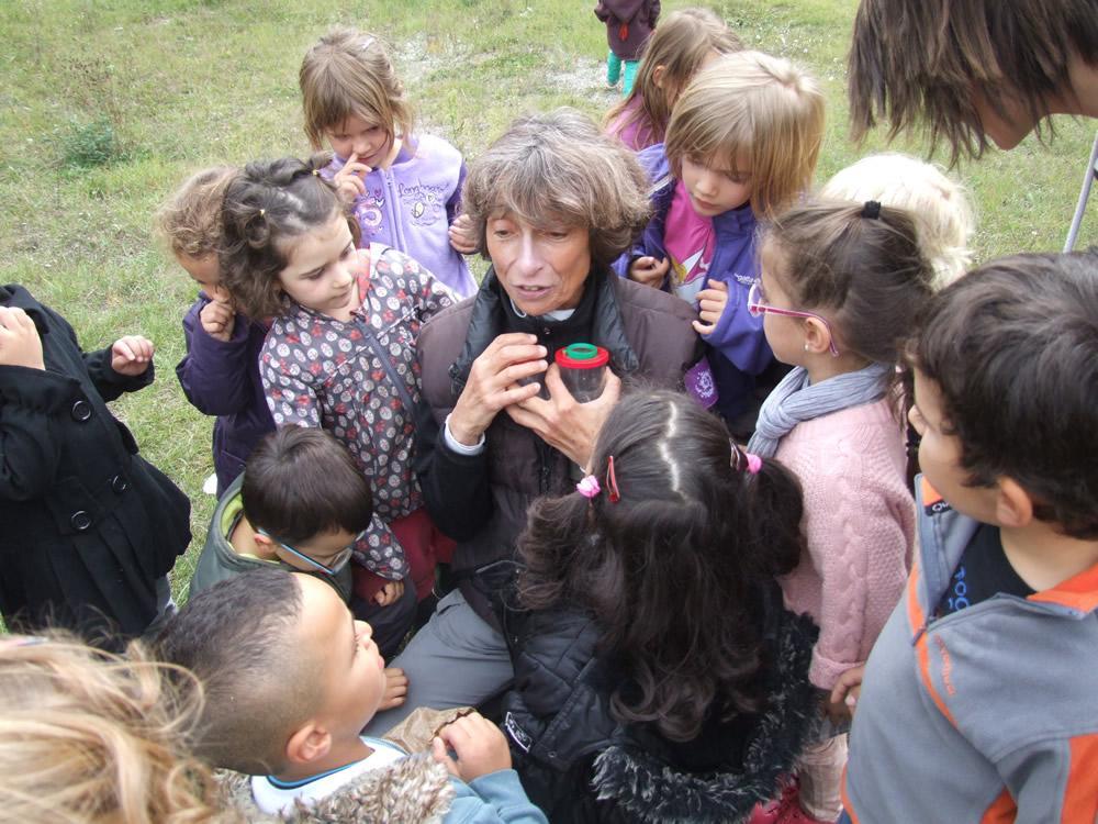 Animations école l'Argentière la Bessée - Parc national des Ecrins