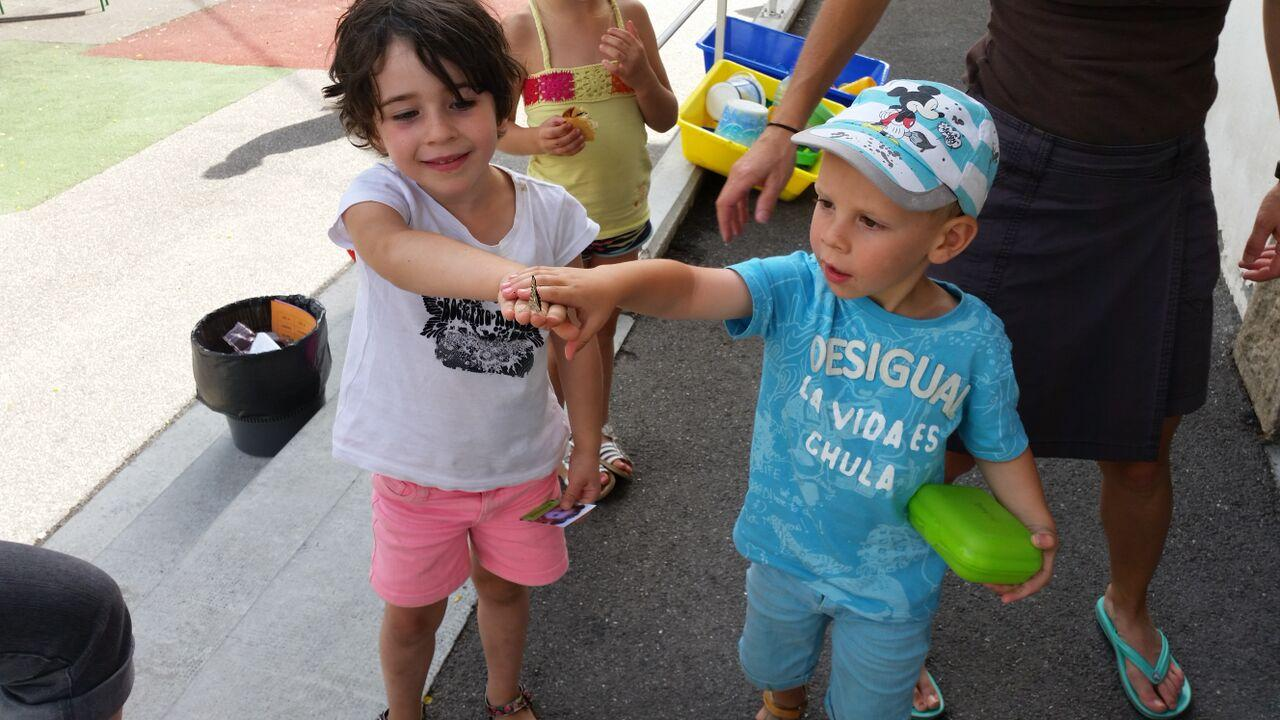 Maternelles de l'Argentière - juin 2015 - Parc national des Ecrins