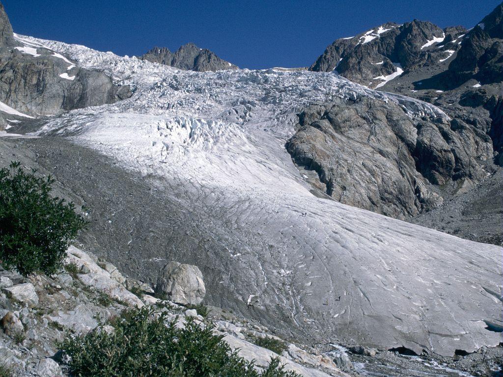 glacier blanc 1995 © Parc national des Ecrins