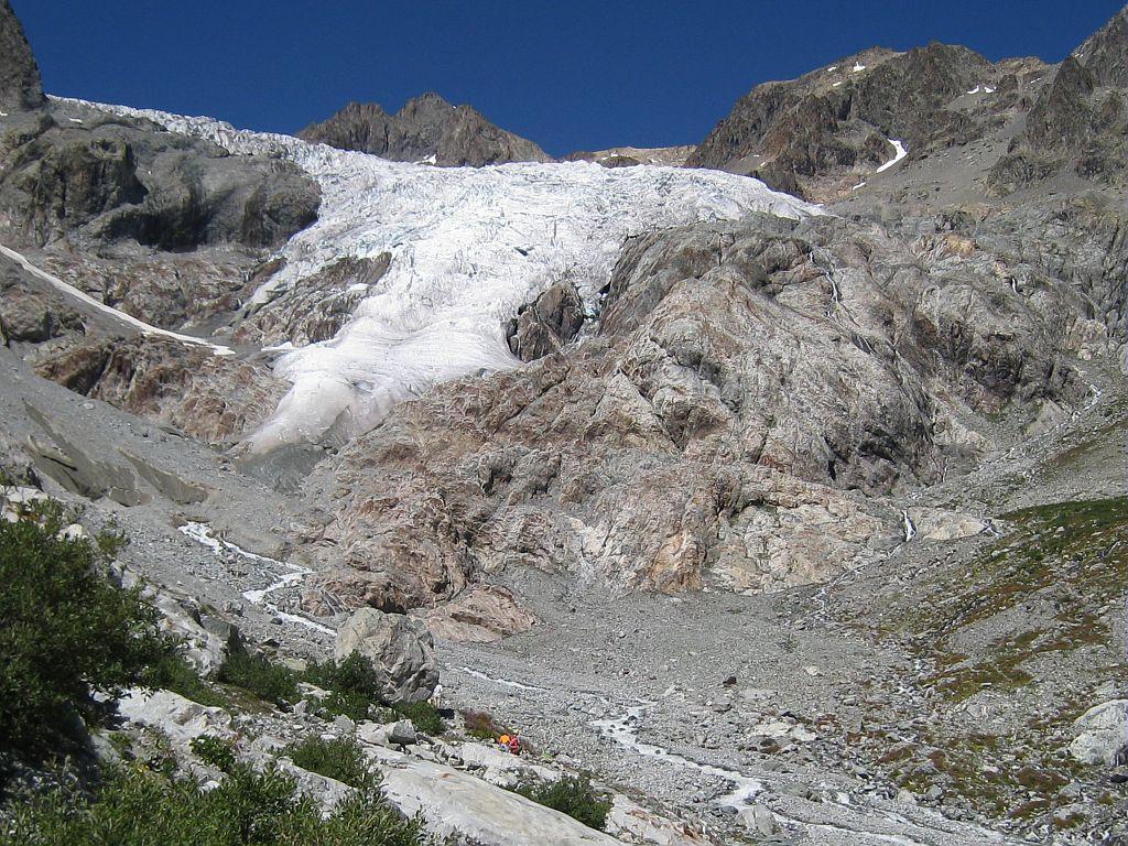 glacier blanc 2010 © Parc national des Ecrins