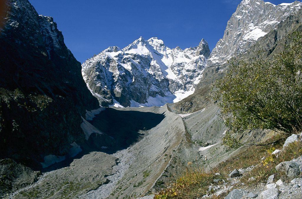 glacier noir  © Parc national des Ecrins