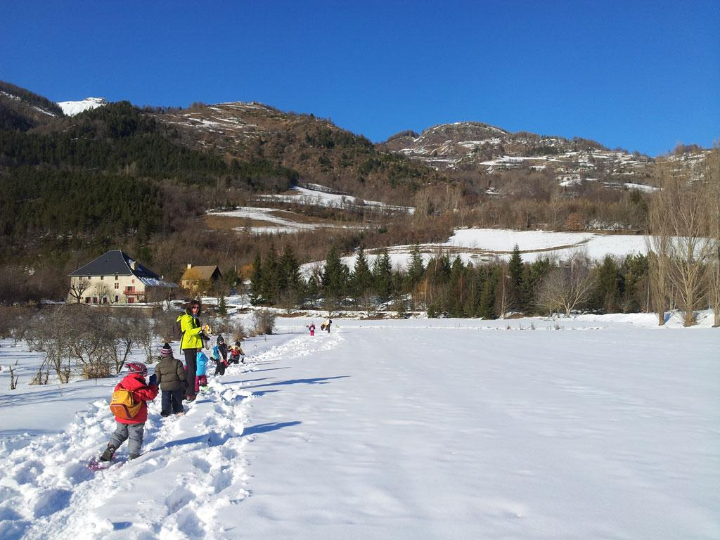 Sur les traces du renard - Jeunes découvreurs - champsaur - Parc national des Ecrins